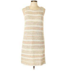 GAP Beige Striped Knit Dress